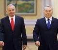 Uzbek President Islam Karimov and Kazakh President Nursultan Nazarbayev assert their power in region